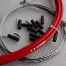 JAGWIRE L3 HOUSING CABLE BRAKE SHIFTER KIT RED COMPLETE