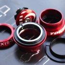 TOKEN Threadless Headset 28.6MM 1-1/8' RED