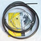 JAGWIRE BRAIDED HOUSING CABLE KIT COLOR CARBON-SILVER