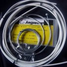 BICYCLE JAGWIRE HOUSING CABLE COMPLETE  KIT WHITE