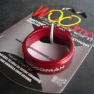 WOODMAN seatpost clamp Titanium bolt 34.9 MM RED 9.5g