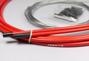 JAGWIRE SHIFTER HOUSING CABLE KIT RED FREE SHIPPING
