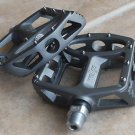 BICYCLE WELLGO MG1 MAGNESIUM PEDALS PAIR 388g MTB BMX DH AM TITANIUM GREY COLOR