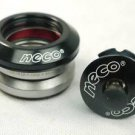 "NECO ROAD BIKE 1-1/8""  Integrated Headset 41.8mm Campy 45°x45° Black color"