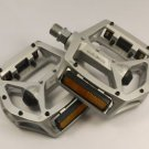 WELLGO MG3 MG-3 MAGNESIUM PEDALS 320g MTB BMX DH NEW IN RETAIL BOX SILVER PAIR