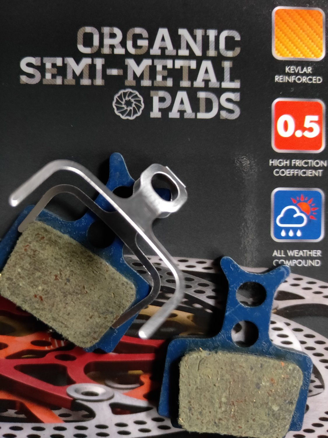 10 PAIR KEVLAR DISC BRAKE PADS SUIT FOR FORMULA MEGA THE ONE R1 RO RX All Weather
