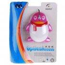Lovely Penguin Optical USB Mouse