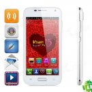 "VSUN i5 Dual-Core Android 4.0 WCDMA Bar Phone w/ 4.5"" QHD, Wi-Fi, GPS and HDMI - White"