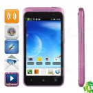 "i9900 (TSM) Android 4.0 Dual Core Phone w/ 4.0"" Capacitive Screen, and Dual-SIM - Black + Purple"