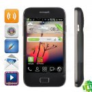 """7562 Android 4.1.1 GSM Bar Phone w/ 4.0"""" Capacitive Screen, Quad-Band and Wi-Fi - White + Blue"""