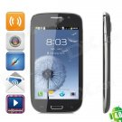 """B930 (TF-I9300) Android 4.0 GSM Bar Phone w/ 4.3"""" Capacitive Screen, Wi-Fi, Quad-Band and Bluetooth"""