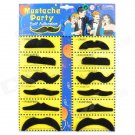 Stylish Costume Artificial Mustache (Assorted 12-PCS)