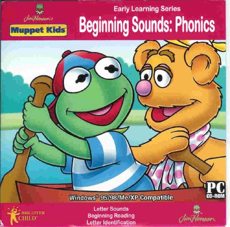 Muppet Kids Phonics Beginning Sounds Ages 3-7