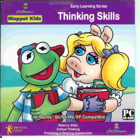 Muppet Kids Thinking Memory Skills Ages 3-7