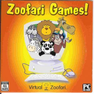 Zoofari Games Interactive PC Game CD All Ages Win XP