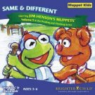 Muppet Kids Vol 5 Same And Different Age 3-6 Win 95/98/ Mac