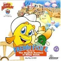 Freddi Fish 4 Case Of Hogfish Rustlers PC Game CD Mystery Win 95/98/ Mac