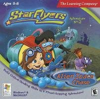 Star Flyers Alien Space Chase PC Game CD Ages 5-8 Win XP/ Mac