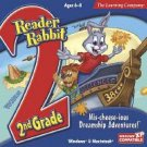 Reader Rabbit 2nd Grade Mis-cheese-ious Dreamship Ages 6-8 PC-CD Win XP/ Mac