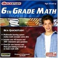 6th Grade Math Speedstudy Education Ages 10+