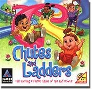 Chutes And Ladders PC-CD Board Game Ages 4-7 Win95/98