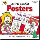 Lets Make Posters Graphics CD Ages 6-13 (Vista) - 35298