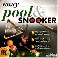 Easy Pool And Snooker CD Sports Tips Techniques Video Interactive (Vista)