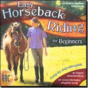 Easy Horseback Riding For Beginners CD Techniques Video Tutorial (Vista)