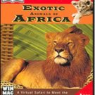 Exotic Animals Africa Virtual Safari CD Interactive Ages 8-11 - 41754