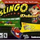 Slingo Deluxe 3 Games Slots Bingo PC-CD Win XP