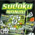 Sudoku Mania PC-CD Numbers Puzzle Win XP