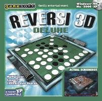 Reversi 3D Deluxe Board Game Quick Strategy PC-CD Win2000/XP