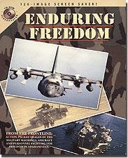 Enduring Freedom Video Screensaver 120+ Images Military Combat Aircraft Ordinance Ships - 31248