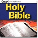 Holy Bible CD Snap Religion Scripture Reference