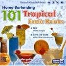 Home Bartending 101 Tropical Drinks CD Win XP/ Mac