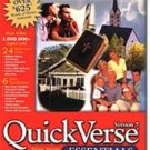 QuickVerse Version 7 Essentials Bible Study Reference CD