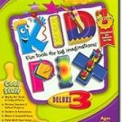Kid Pix Deluxe 3 PC Game Activities Graphics Ages 4+ (Vista) - 28263