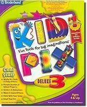 Kid Pix Deluxe 3 PC Game Activities Graphics Ages 4+ (Vista) - 28263
