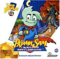 Pajama Sam No Need To Hide When Its Dark Outside PC Adventure Ages 3-8