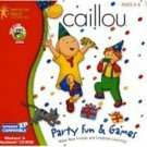 Caillou Party Fun And Games PC Learning Activities Ages 2-6