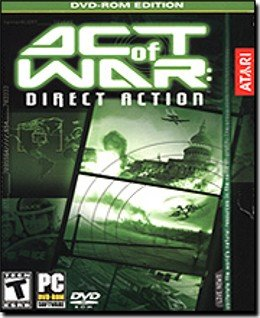 Act Of War Direct Action DVD PC Game RTS War Win XP - 36017
