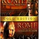 Rome Total War Gold Edition w/ Barbarian Invasion Exp PC-DVD Win2000/XP