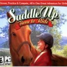 Saddle Up Time To Ride PC Game Horse Simulation Rated E  (56-7204)