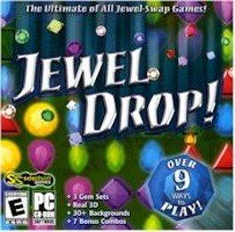 Jewel Drop PC-CD Puzzle Game Win XP