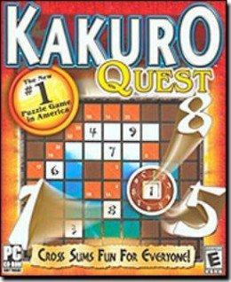 Kakuro Quest Numbers Puzzle PC-CD Win XP - 38850