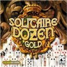 Solitaire Dozen Gold PC-CD Cards Win XP