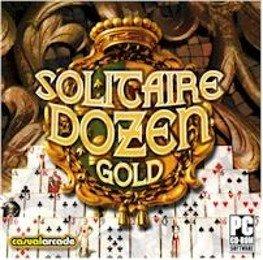 Solitaire Dozen Gold PC-CD Cards Win XP