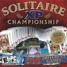 Solitaire XP Championship 500 Card Games PC-CD Win XP