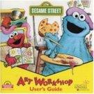 Art Workshop Sesame Street Graphics Activities Ages 3-6