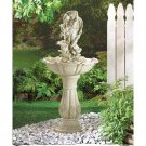 *(FREE SHIPPING)* FAIRY WITH URN GARDEN FOUNTAIN